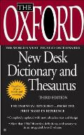 Oxford American Desk Dictionary and Thesaurus (2nd Ed.)