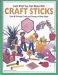 Look What You Can Make with Craft Sticks: Over 80 Pictured Crafts and Dozens of