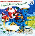 Little Engine That Could and the Snowy, Blowy Christmas (All Aboard Books)