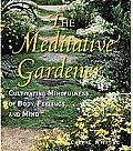 Meditative Gardener Cultivating Mindfulness of Body Feelings & Mind