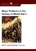 Major Problems in the History of World War II Cover