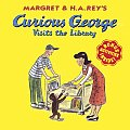 Curious George Visits the Library (Curious George) Cover