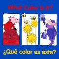 Que Color Es Este? / What Color Is It? (Un Buen Comienzo)