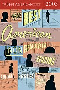 The Best American Nonrequired Reading 2003 Cover