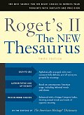 Rogets II the New Thesaurus 3RD Edition