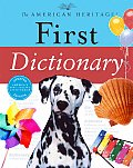 The American Heritage First Dictionary (American Heritage Dictionary) Cover