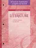 The Language of Literature, Grade 7: Selection Summaries in English and Spanish [With 2 CDs]