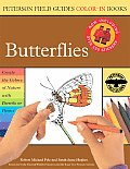 Peterson Field Guide Color In Book Butterflies