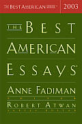Best American Essays 2003