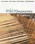 Microeconomics in Context (05 - Old Edition) Cover