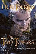 Two Towers Lord Rings 2 Movie Cover
