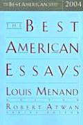 The Best American Essays 2004 (Best American Essays) Cover