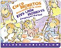 Cinco Monitos Brincando en la Cama/Five Little Monkeys Jumping On The Bed (Five Little Monkeys Picture Books) Cover