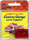 Curious George and the Firefighters: Carry Along with Cassette(s) (Curious George)