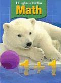 Houghton Mifflin Math: Student Book Grade 1 2007