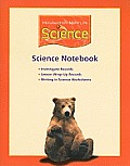 Houghton Mifflin Science: Science Notebook (Consumable) Grade 2