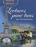 Lectures Pour Tous with Test Preparation [With CD (Audio)]