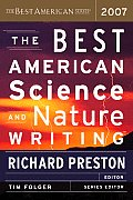 Best American Science &amp; Nature Writing #2007: The Best American Science and Nature Writing Cover