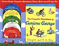 Curious George Complete Adventures Deluxe Gift Set With 5 CDs