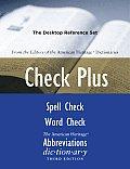 Check Plus: The Desktop Reference Set