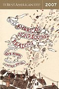 Best American Nonrequired Reading 2007