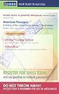 American Passages: A History of the United States, Volume I (with Cengagenow, Student Book Companion Site, Infotrac(r))