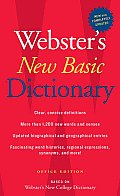 Websters New Basic Dictionary Office Edition
