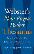 Webster's New Roget's Pocket Thesaurus (08 Edition)
