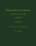 Ramesside Translations V 3