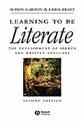 Learning To Be Literate (2ND 98 Edition)