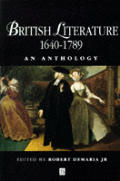 British Literature 1640-1789: An Anthology
