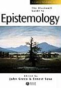 Blackwell Guide To Epistemology