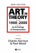 Art in Theory, 1900-2000 ((Rev)03 Edition) Cover