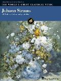 Johann Strauss: Intermediate to Advanced Piano Solo (World's Great Classical Music) Cover