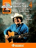 Bluegrass Guitar Solos That Every Parking Lot Picker Should Know, Series 4