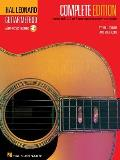 Hal Leonard Guitar Method Complete Edition Books 1 2 & 3 Bound Together in One Easy To Use Volume With CDs