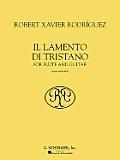 Il Lamento Di Tristano: For Flute and Guitar (Score and Parts)