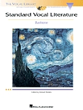 Standard Vocal Literature: Baritone - With CD (04 Edition)