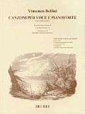 Vincenzo Bellini - Canzoni Per Voce: Songs for Low Voice and Piano