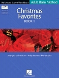 Christmas Favorites Book 1 - Book/GM Disk Pack: Hal Leonard Student Piano Library Adult Piano Method