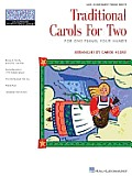 Traditional Carols for Two Hal Leonard Student Piano Library Composer Showcase