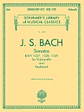 Schirmer's Library of Musical Classics #2053: Sonatas for Violoncello and Keyboard BWV 1027, 1028, 1029