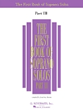 First Book of Soprano Solos - Part III