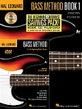 Hal Leonard Bass Method Beginners Pack With CD & DVD