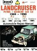 Landcruiser Petrol Gasoline 4&6 Cylinder Repair Manual 1969 1990