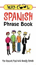 Way-Cool Spanish Phrase Book (Way-Cool Phrase Books) Cover