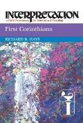 First Corinthians Interpretation a Bible Commentary for Teaching & Preaching