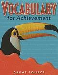 Vocabulary for Achievement, Grade 4