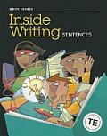 Write Source Inside Writing: Sentences