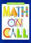 Math On Call A Mathematics Handbook